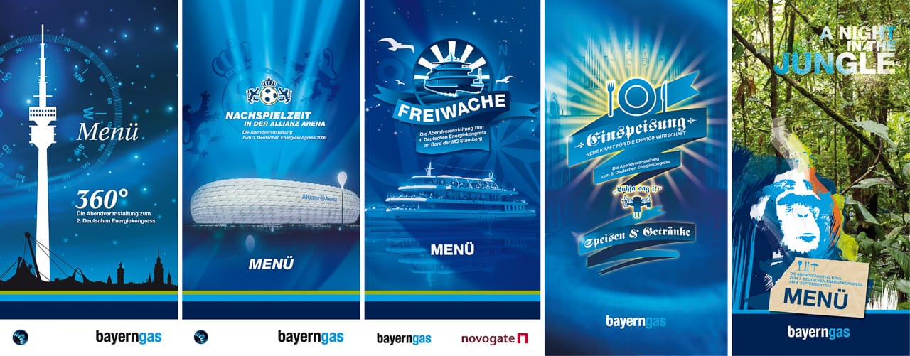 Event-Branding – Corporate Design Bayerngas GmbH