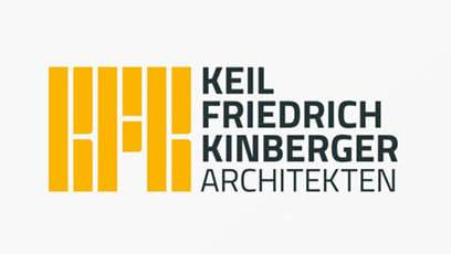 Logo, Corporate Design – Architekturbüro KFK