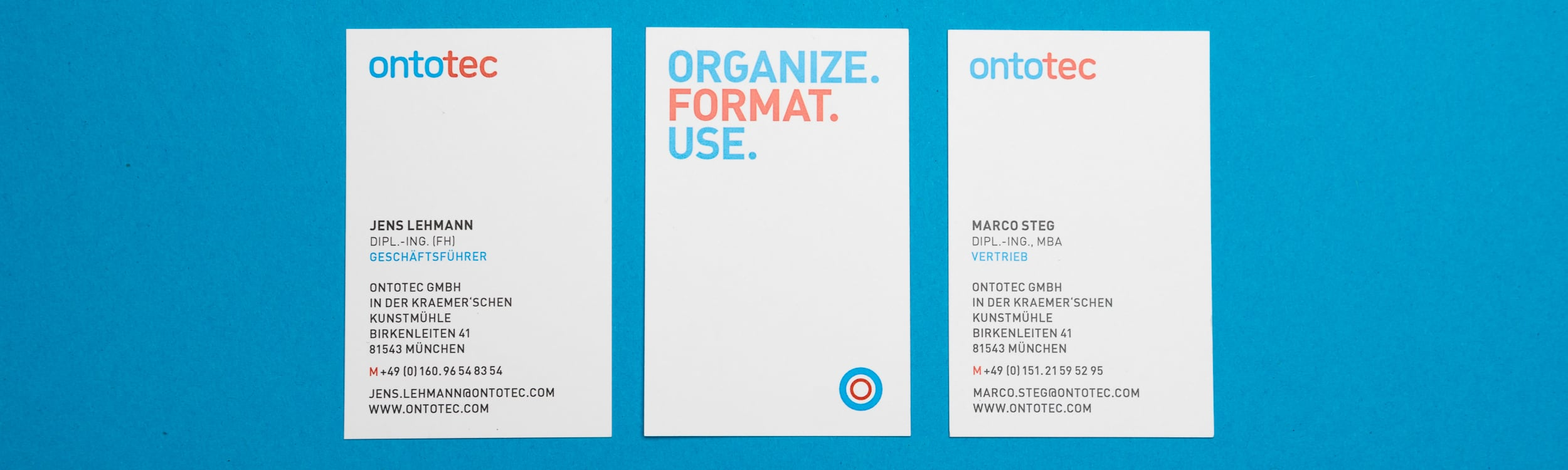 Corporate Design OntoTec