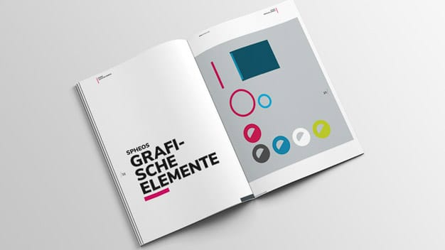 Corporate Design Guide – spheos Branding