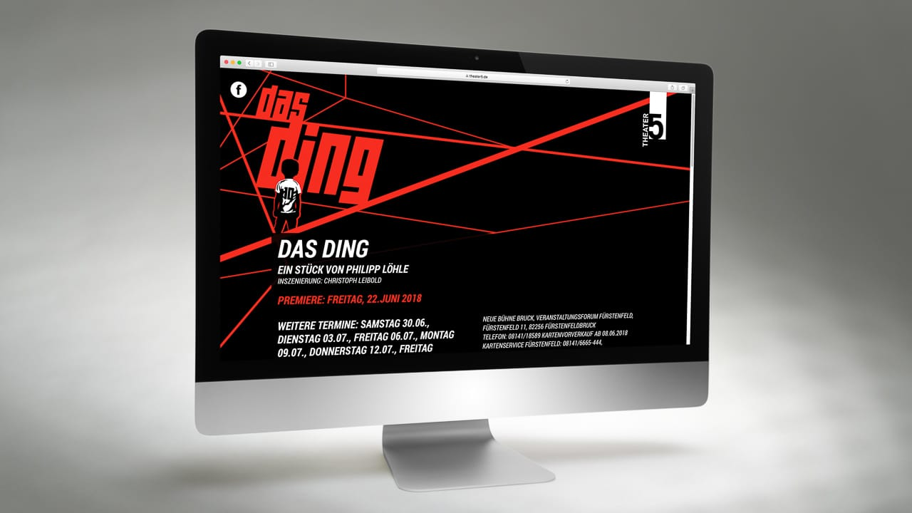 Webdesign Beispiel: Theater 5